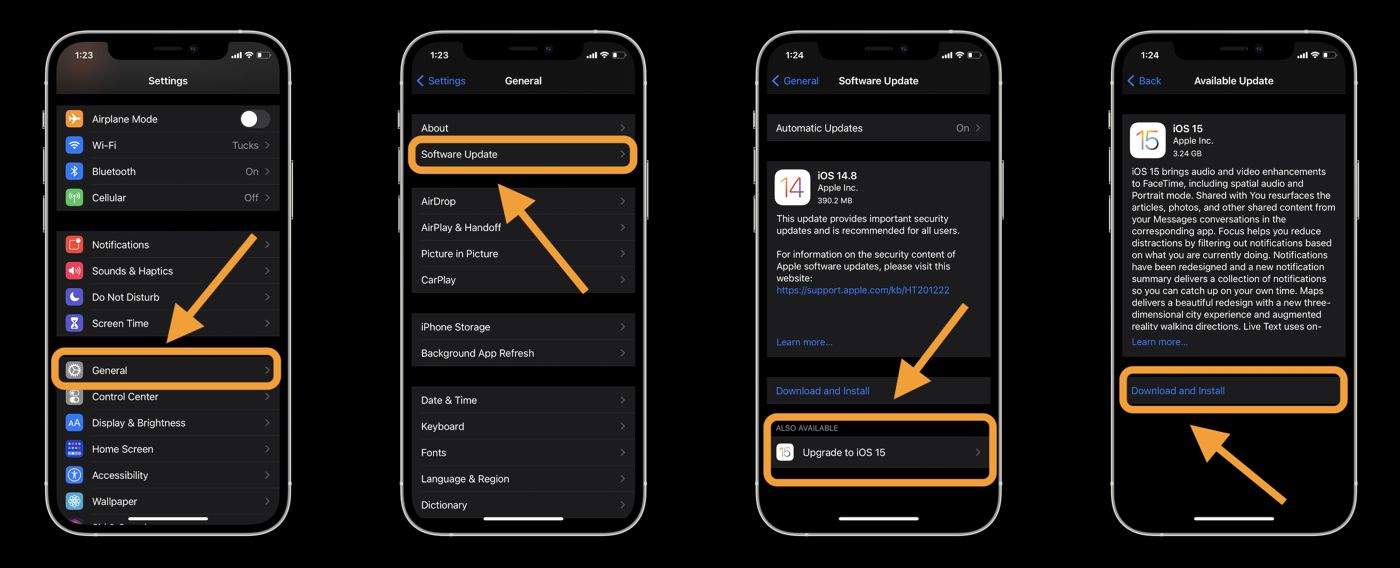 How to install iOS 15 on iPhone