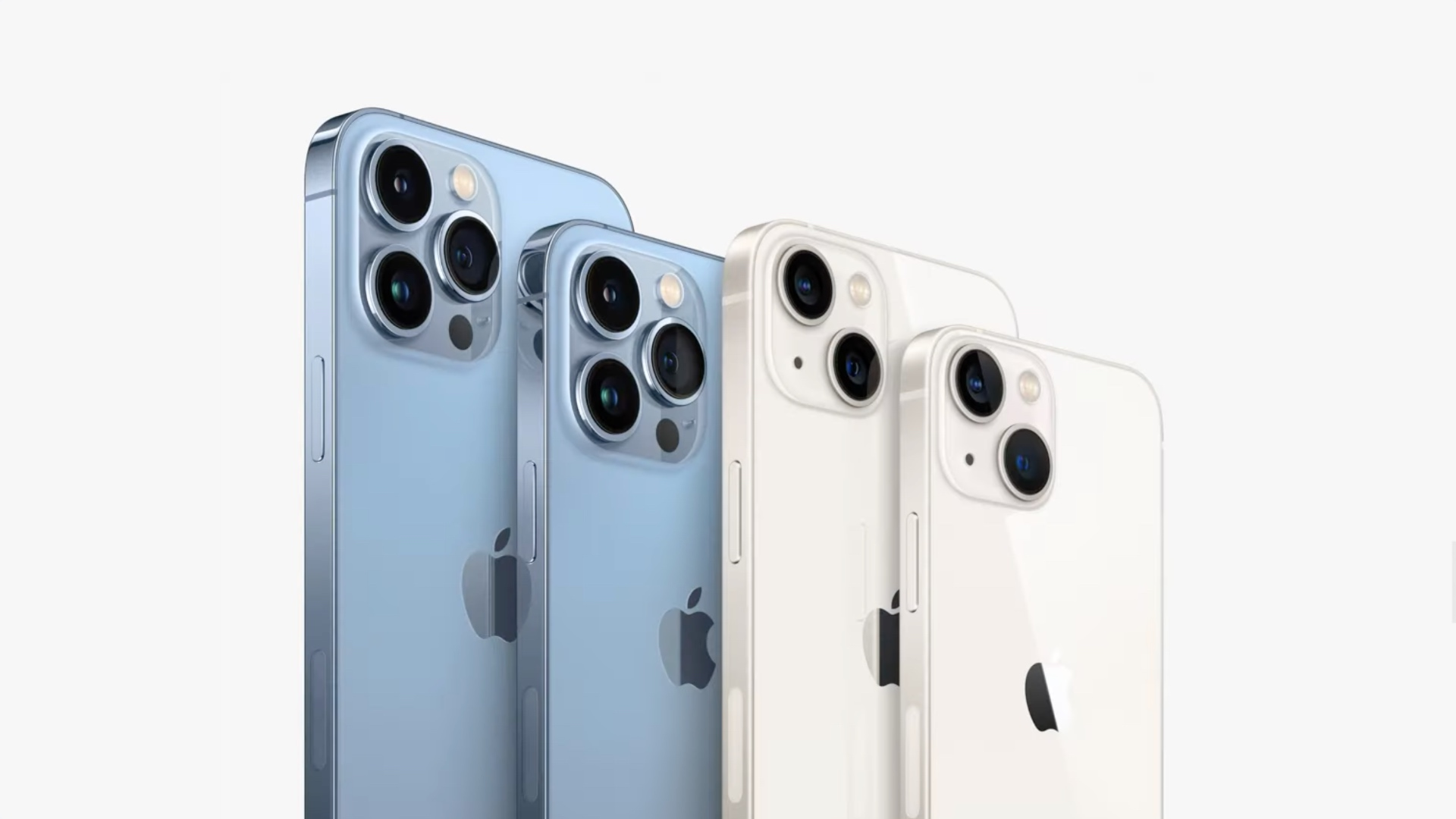 All iPhone 13 models