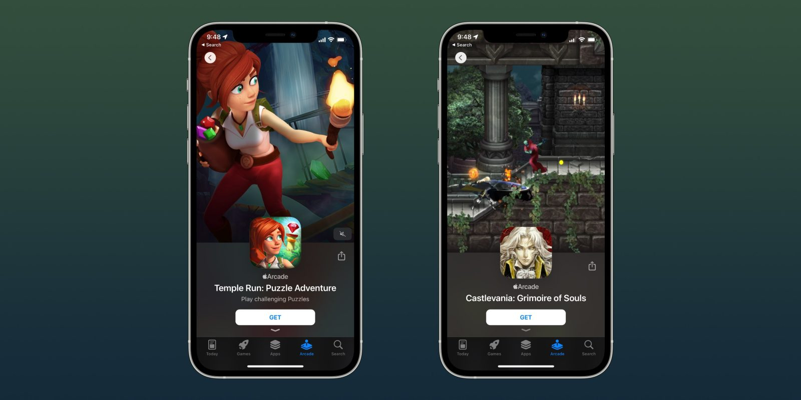 photo of Latest Apple Arcade games for iPhone, Mac, Apple TV [Castlevania and Temple Run Puzzle Adventure] image