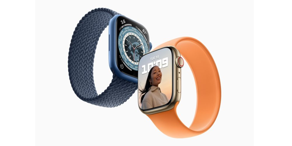 Apple Watch Series 7 deliveries
