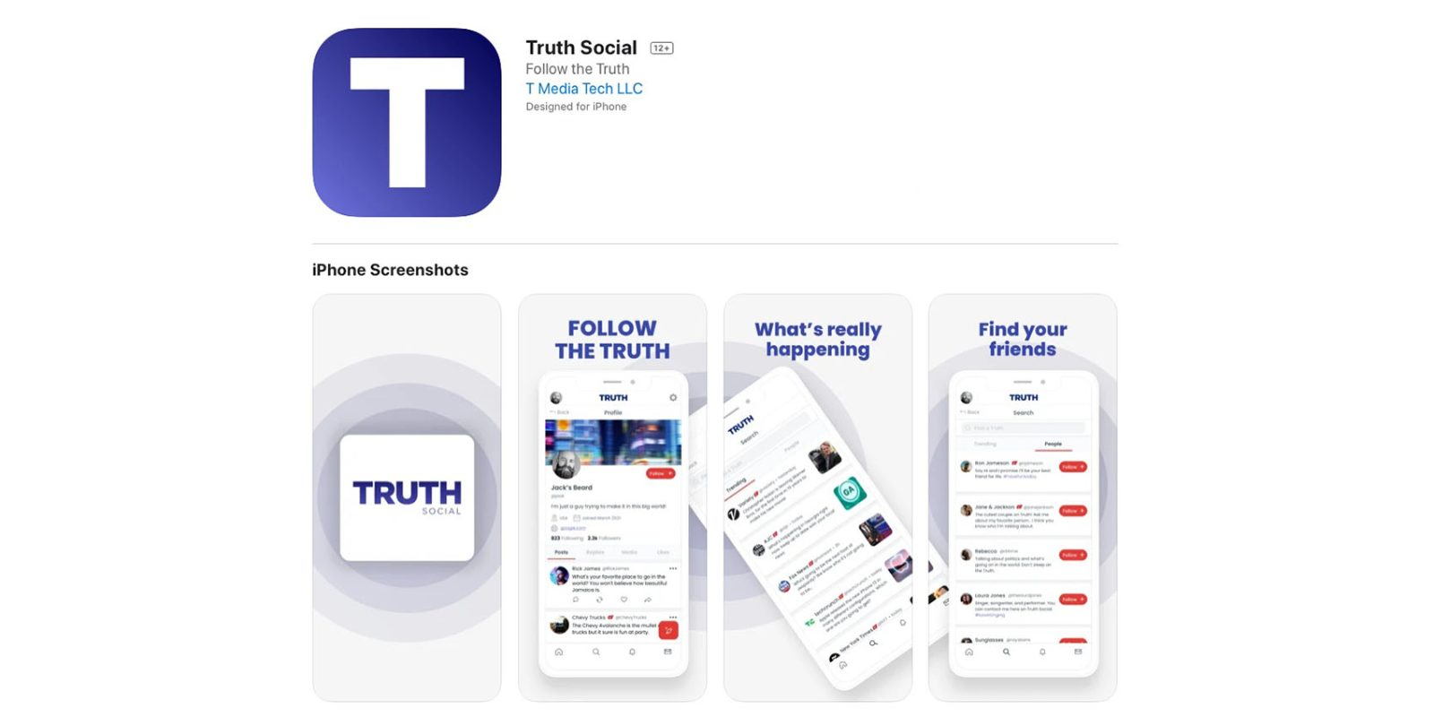 Trump announces Truth Social iOS app in belated response to Twitter ban