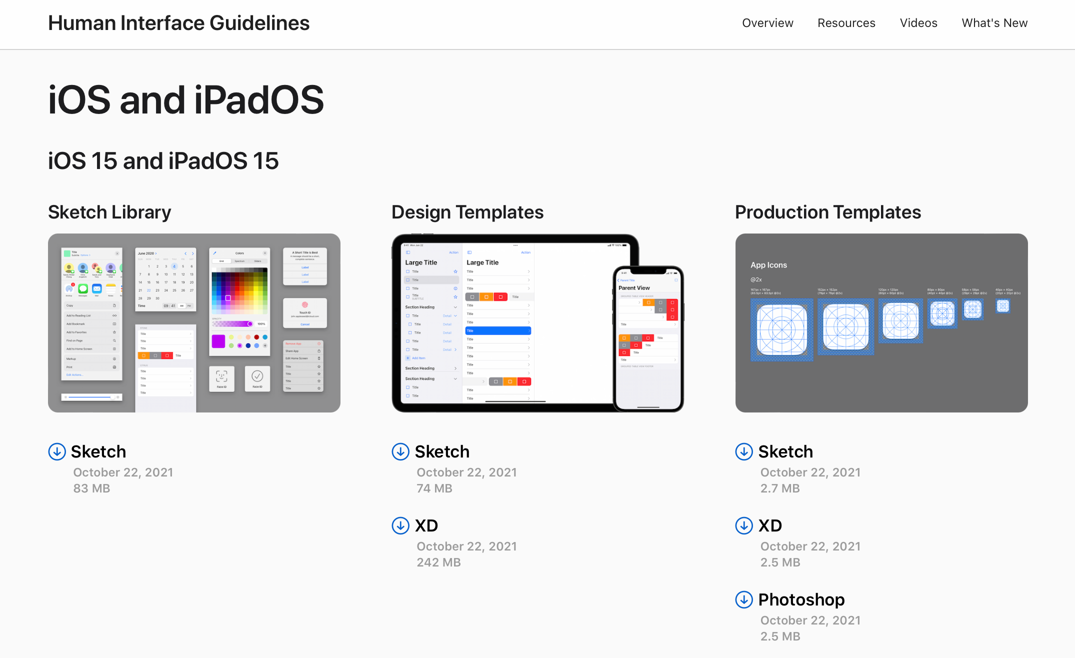 9to5mac.com - Apple refreshes design resources for iOS 15 with new templates, fonts, and website