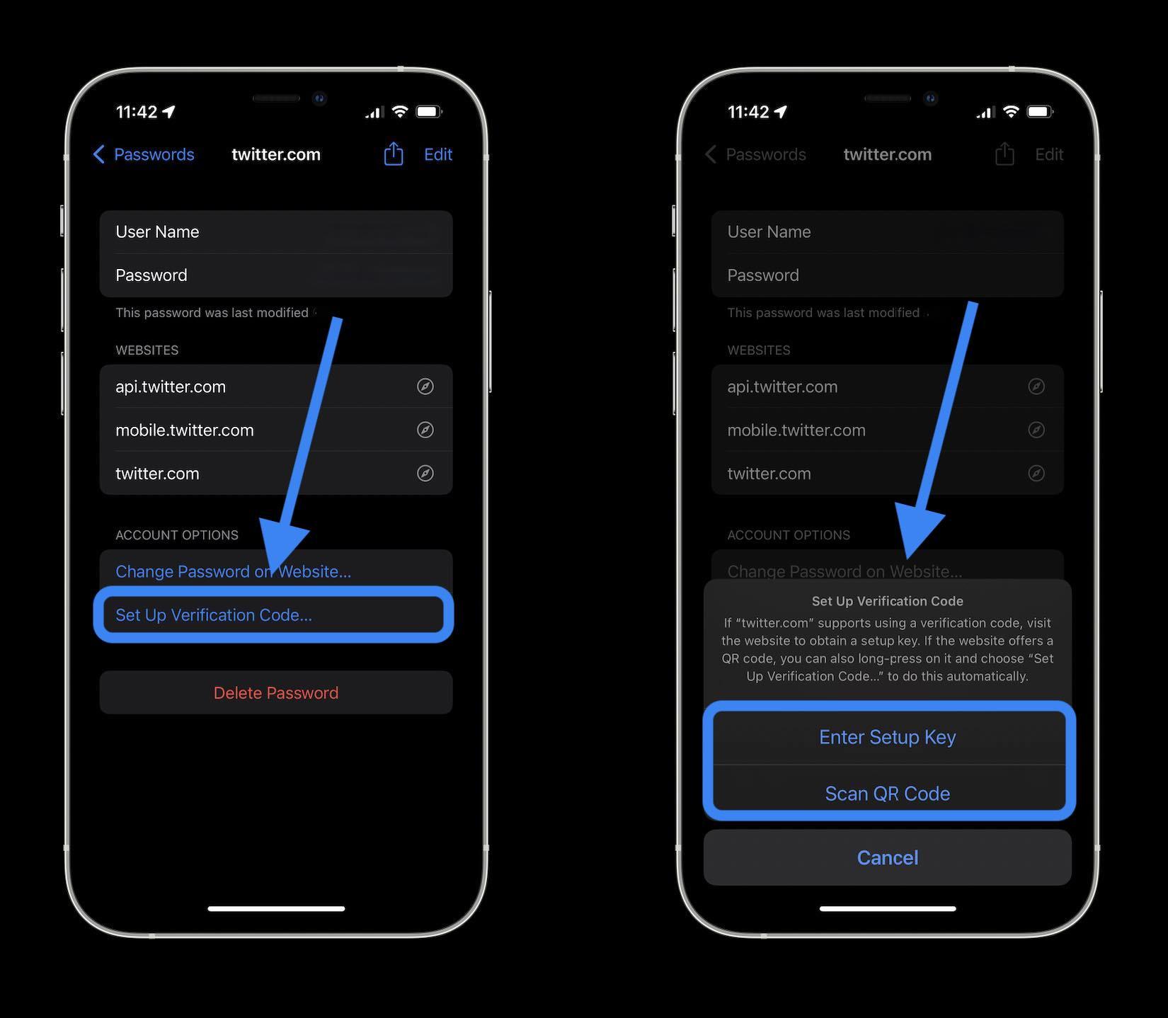 Как настроить генератор кода 2FA для iOS 15 и автозаполнение - iOS Приложение