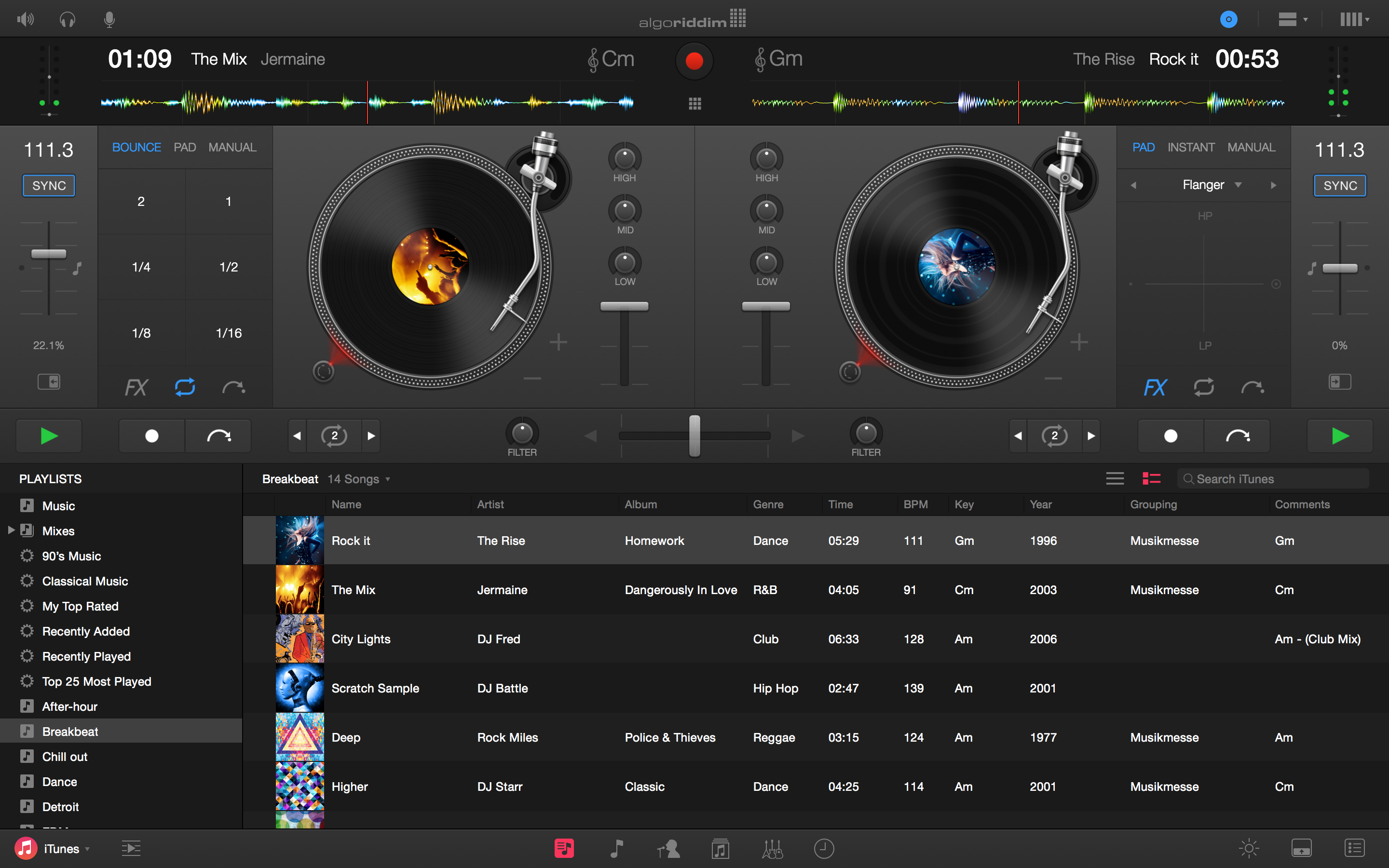 song mixing app for mac